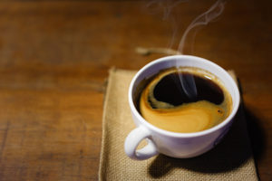 Een intake onder het genot van een kopje koffie, als u komt voor een tepelreconstructie.